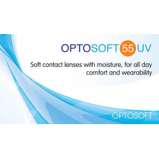 Optosoft 55 UV (6 линз)